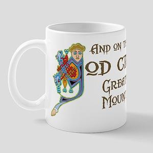 God Created Swissies Mug