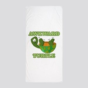Awkward Turtle Beach Towel
