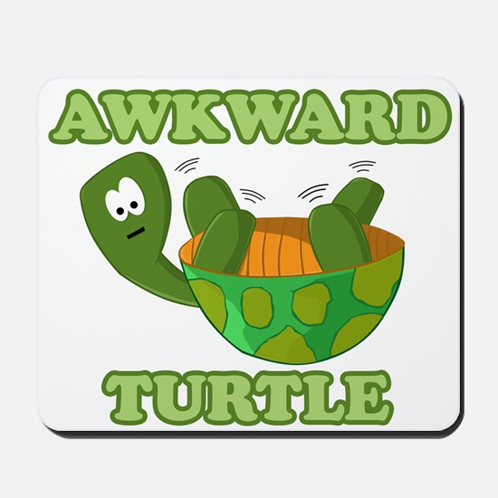 Awkward Turtle Mousepad