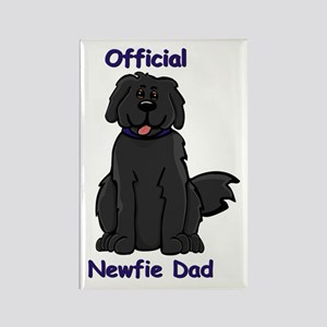 Newfie Dad Rectangle Magnet