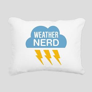 Weather Nerd Rectangular Canvas Pillow