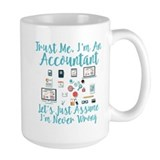 Accounting Large Mugs (15 oz)