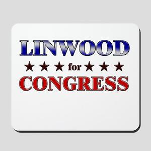 LINWOOD for congress Mousepad