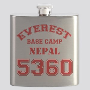 Everest Base Camp Red Flask