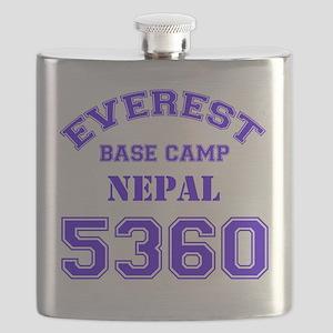 Everest Base Camp (blue) Flask