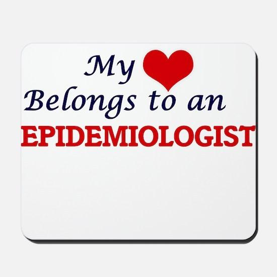 My Heart Belongs to an Epidemiologist Mousepad