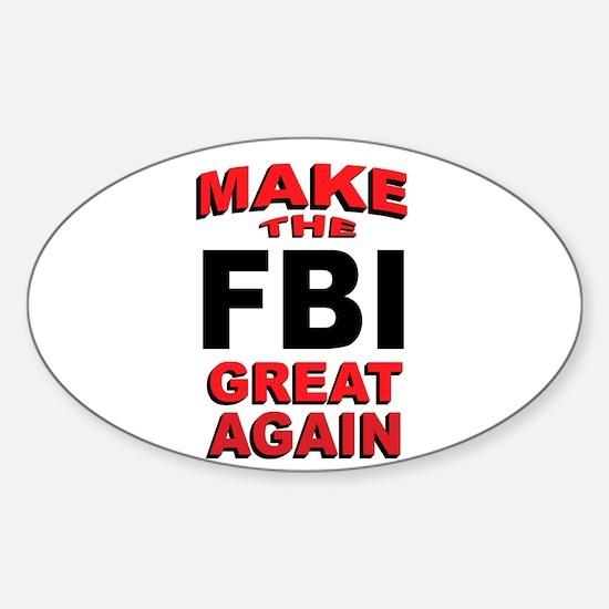 FBI Decal