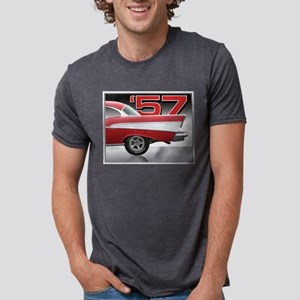 1957 Chevy Belair Ash Grey T-Shirt