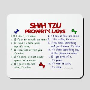Shih Tzu Property Laws 2 Mousepad
