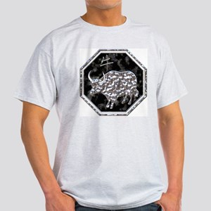 Year of the Ox Astrology  Ash Grey T-Shirt
