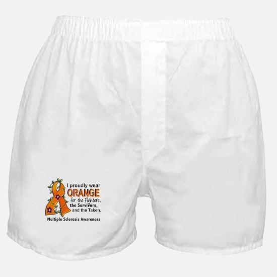 For Fighters Survivors Taken MS Boxer Shorts