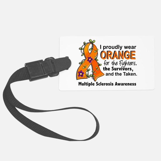 For Fighters Survivors Taken MS Luggage Tag