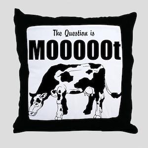 Moot 2 Throw Pillow