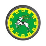 Outlands Populace Ensign Wall Clock