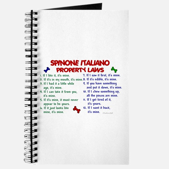 Spinone Italiano Property Laws 2 Journal