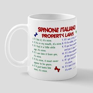 Spinone Italiano Property Laws 2 Mug