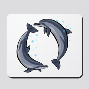 Spinner Dolphins Mousepad