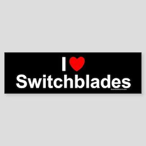 Switchblades Sticker (Bumper)