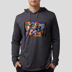 Colorful Sonic Man Graffiti Long Sleeve T-Shirt