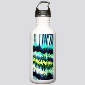 teal tropical leaf wat Stainless Water Bottle 1.0L