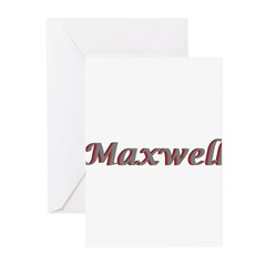 Maxwell Greeting Cards (Pk of 20)