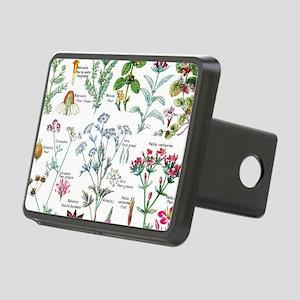 Botanical Illustrations - Rectangular Hitch Cover