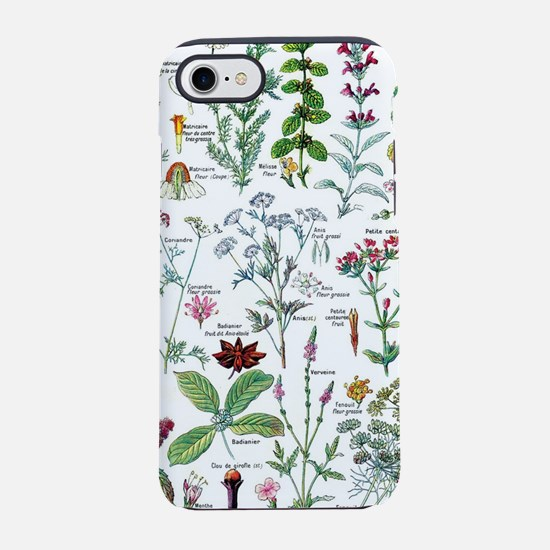Botanical Illustrations - La iPhone 8/7 Tough Case