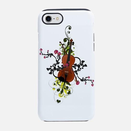 Cute Fiddle iPhone 8/7 Tough Case