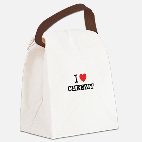 I Love CHEEZIT Canvas Lunch Bag