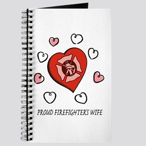 Proud Firefighter's Wife Journal