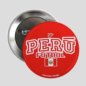 """Peru Futbol/Soccer 2.25"""" Button"""