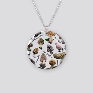 Morels Necklace Circle Charm
