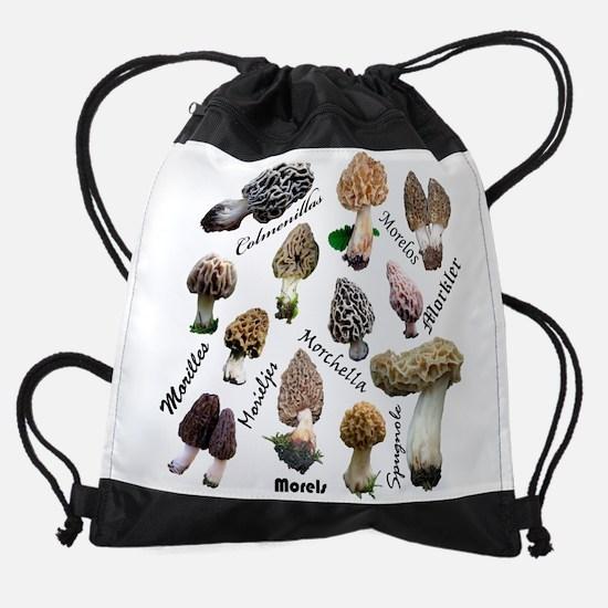 Morels Drawstring Bag