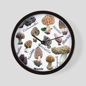 Morels Wall Clock