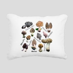 Morels Rectangular Canvas Pillow