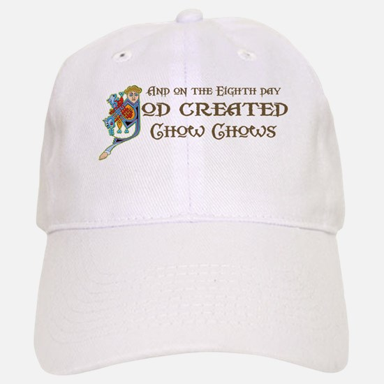 God Created Chows Baseball Baseball Cap