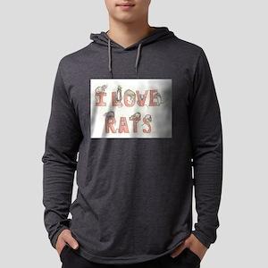 I LOVE RATS Long Sleeve T-Shirt