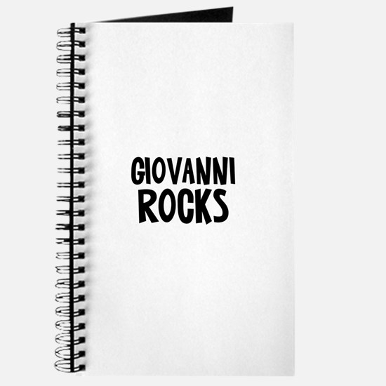 Giovanni Rocks Journal