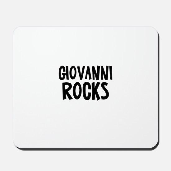 Giovanni Rocks Mousepad