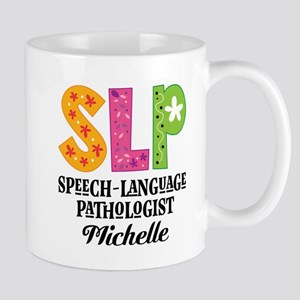 SLP Speech-Language Pathologist Mugs