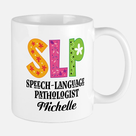 SLP Speech-Language Pathologist Mugs