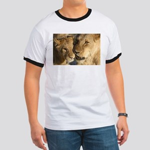Lioness and cub affection Ringer T
