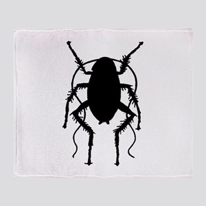 Cockroach Throw Blanket