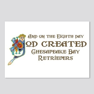God Created Chessies Postcards (Package of 8)