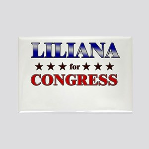 LILIANA for congress Rectangle Magnet