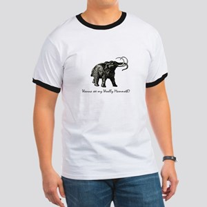 Woolly Mammoth Pick Up Ringer T