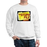 stuph_file_logo Sweatshirt