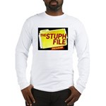 stuph_file_logo.jpg Long Sleeve T-Shirt