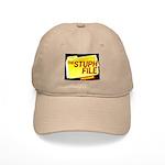 stuph_file_logo Baseball Cap