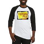 stuph_file_logo Baseball Jersey